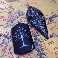 Lord of the Rings Pendants by DarrelMorris