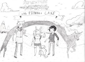 Adventure Time with Fionna and Cake - Finished by stonerloner