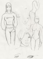 Benes Sketches 1 by leonx
