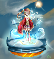 Contest Entry: -A sunny day in the sky- by Yu-chyan