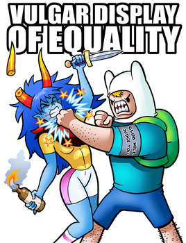 Vulgar Display Of Equality by curtsibling