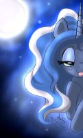 MLP FIM - The Mistress of The Night Luna by Joakaha