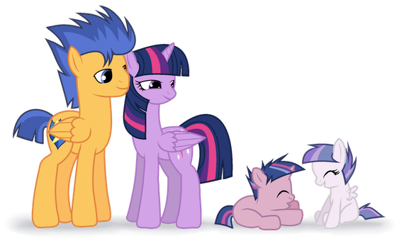 MLP Princess Twilight Sparkle And Flash Sentry's F by SilverSentryYT
