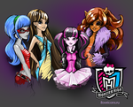 Monster High girls by i-love-icons