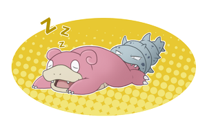 Prize: Slowbro by Mizzi-Cat