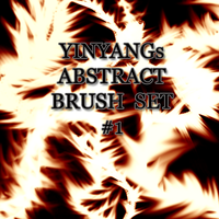 YinYangs Abstract Brush Set:1 by lllYinYanglll