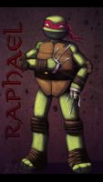 TMNT2012:. Raphael by Magic-Ray