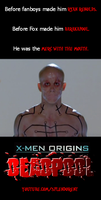 X-Men Origins: Merc with the Mouth by SplendorEnt
