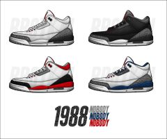Air Jordan 3 OG by BBoyKai91