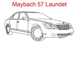 Maybach 57 Laundet by MarcusMcCloud100