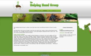Helping Hand Group - Website by madeofglass13