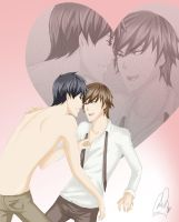 Junjou Romantica-Late for work by Amanduur