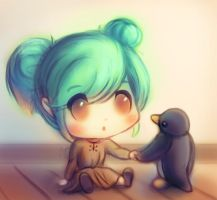 LoL - Sona's New Friend by cubehero