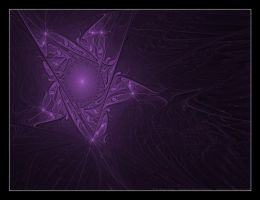 Purple Star by faded-ink