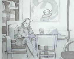 Drink+Draw: Starbuckeries by axl99