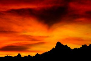 South Dakota Badlands Sunset by MiakadoArts