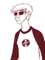 Dave Strider by Thystle