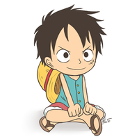 The King Of Pirates! Luffy! by GrowingLight