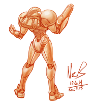 10.6 Samus by hybridmink