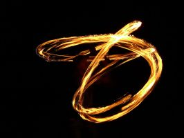 Fire Dancing and Spinning I by laura-worldwide