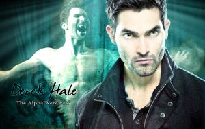 Derek Hale Wallpaper - Teen Wolf by Elettra
