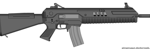 Non-bullpup TAR 21 by Robbe25