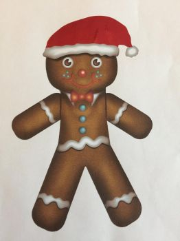 Cutie Gingerbread man  by Mere771