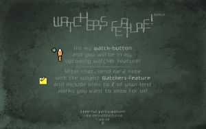 Watchers Feature - March by wellgraphic