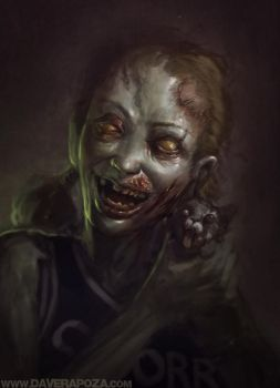 Zombie Cheerleader  Video by DaveRapoza