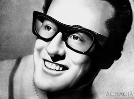 Buddy Holly by Achacja