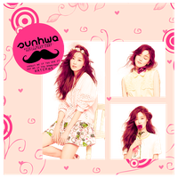 Sunhwa (secret) - png pack (render) by michiru92