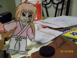 Paper child: Kenshin by Lia-Poizun-Apples