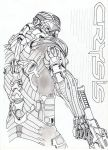 Crysis cover draw by Alex-TheNoob