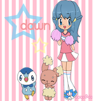 cheerleader dawn ! by poigo