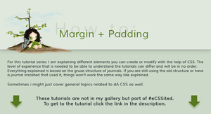 How to: Margin + Padding by ginkgografix