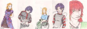Cards Two Sibs + Some Beyotchs by ZiaRenete13x