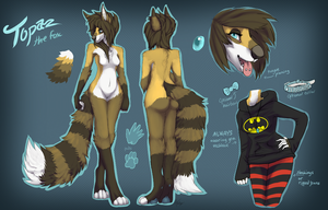 NyxWhisper Character Sheet Commission by gr-ay