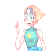 A confused and slightly scared Pearl by Lexpuya