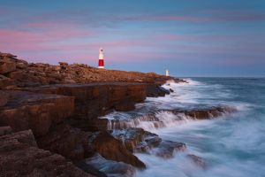 Afterglow over Portland Bill by JakeSpain
