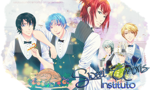 Merry Xmas! Instituto Sweet Amoris banner 4 by Camusa