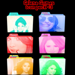 Selena Gomez icon pack by BrunoEdits