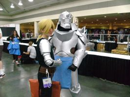 Edward and Alphonse Elric by tobiizcute555