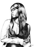 NICKI MINAJ by face-art
