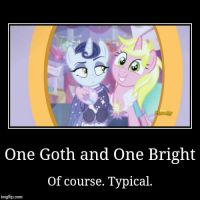 Goth and Bright: Opposites Attract by XxMisery-SeverityxX
