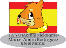 Tano the Spanish Buizel by Artooinst