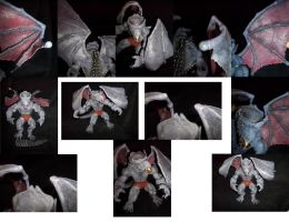 Toybiz Dragon Man with customized wings by ayelid