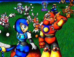 Robot Master Moments 1 by spdy4