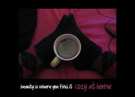 beauty is where you find it: cozy at home by MadameMimii
