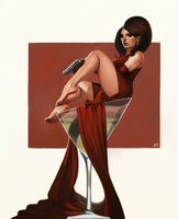 Bond Girl by giorgiobaroni