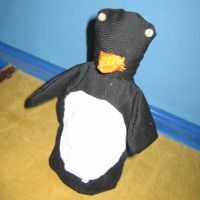 Big Penguin by puppetry